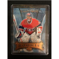 2007-08 UPPER DECK ARTIFACTS HOCKEY #205 CAREY PRICE RC (576/599)