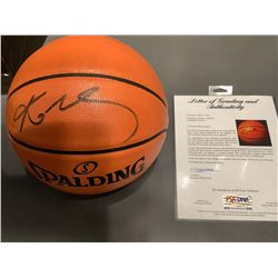 KOBE BRYANT SIGNED SPALDING BASKETBALL (PSA/ DNA COA)