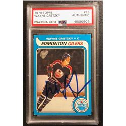 1979 TOPPS #18 WAYNE GRETZKY (AUTHENTIC)