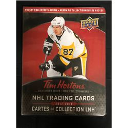 2017-18 UD TIM HORTONS COMPLETE MASTER HOCKEY CARD SET w/ ALL INSERTS