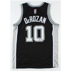 DeMar DeRozan Signed Spurs Jersey (PSA COA)