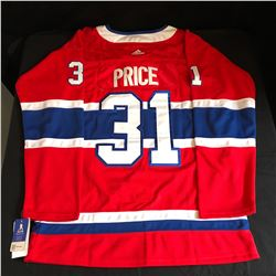 CAREY PRICE MONTREAL CANADIENS HOCKEY JERSEY (SIZE 52)