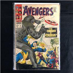 The Avengers #37 (MARVEL COMICS)