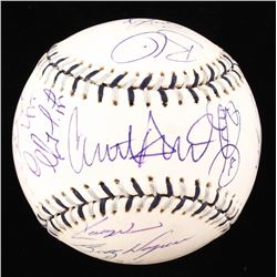 2008 MLB ALL-STAR BASEBALL Signed by Manny Ramirez, Derek Jeter and Mariano Rivera + MORE...