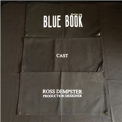 """DIRECTOR CHAIR COVERS FROM TV SERIES """"PROJECT BLUE BOOK"""""""