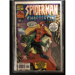 SPIDER-MAN Chapter One #1 (MARVEL COMICS0 Signed by Stan Lee (WIZARD AUTHENTIC)