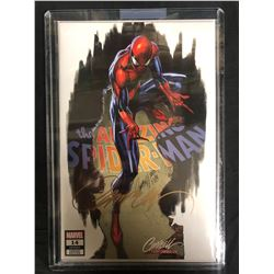 The AMAZING SPIDER-MAN #14 (MARVEL COMICS) Signed by SCOTT CAMPBELL w/ COA