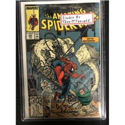 The AMAZING SPIDER-MAN #303 (MARVEL COMICS) Signed by TODD McFARLANE w/ COA