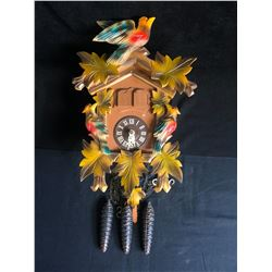 Collectible German Colorful Cuckoo Clock