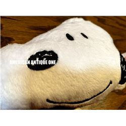 Mr. Donut x Snoopy fluffy pouch