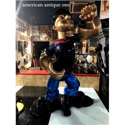 151cm Popeye Life Size Figure Artist Laura Crier art production