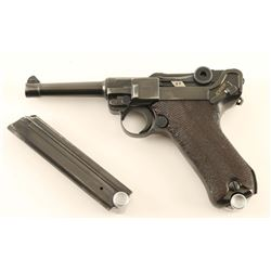 Mauser Banner 1940 Police Luger 9mm #3465x