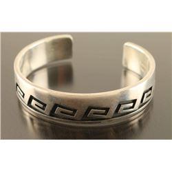 Hopi Sterling Cuff Bracelet