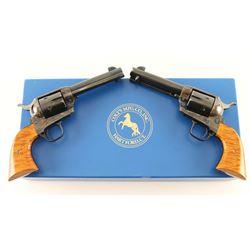 Consecutive Pair of Colt SAA SASS Revolvers