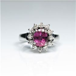 Amazing Fine Quality Ruby and Diamond Ring