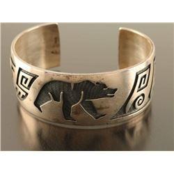 Beautiful Hopi Bear Cuff