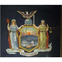 Spanish American New York State Flag