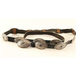 Native Ladies Concho Belt