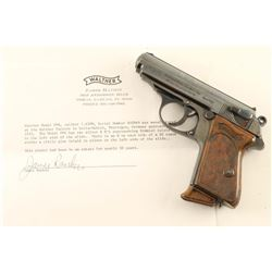SS Marked Walther PPK .32 ACP SN: 800969