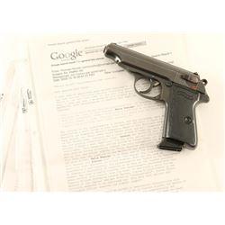 Walther PP 'Felix Steiner' 32 ACP SN 756034