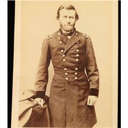 Black & White Photo of President Ulysses Grant