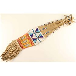 Lakota Plains Beaded Pipe Bag