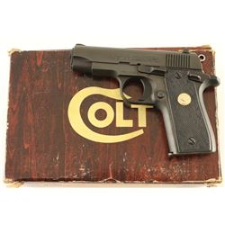 Colt Government Model .380 ACP SN: RC08986