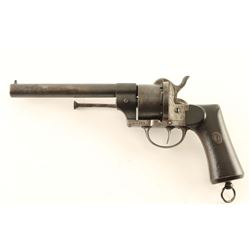 Spanish Army Pinfire Revolver 11mm #N1459