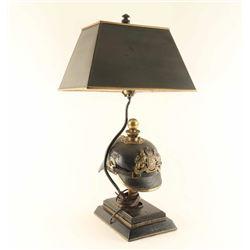 German WWI Trench Art Lamp