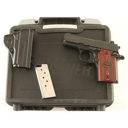 Sig Sauer P938 9mm SN: 52B166973
