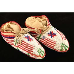 Child's Sioux Ceremonial Moccs
