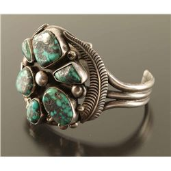 Old Pawn Morenci Turquoise Cuff