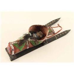 Plains Toy Indian Cradleboard