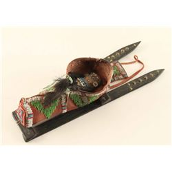 Plains Toy Indian Cradleboard