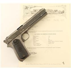 Colt 1902 Sporting .38 ACP SN: 7244