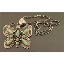 Navajo Butterfly Pendant/Pin