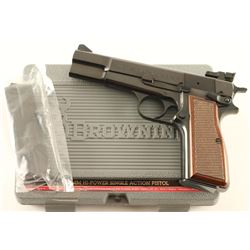 Browning Hi-Power 9mm SN: 245NX51002