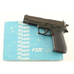 Sig Sauer P220 .38 Super SN: G231980