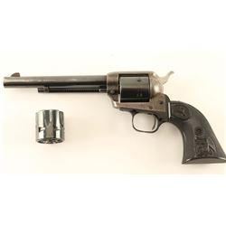 Colt Peacemaker .22 Convertible SN: G107127