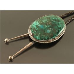 Large Navajo Turquoise Bolo