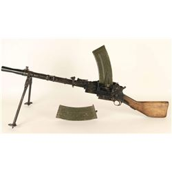 Danish Madsen 1950 8mm LMG Display Gun