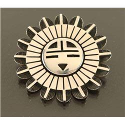 Ramon Dalangyamwa Sunface Pin/ Pendant