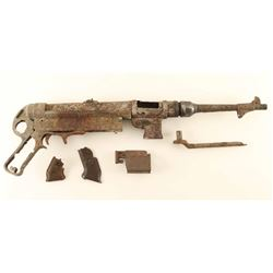 German MP 40 9mm SMG Relic