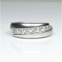 Striking Fine Quality Men's Diamond Band