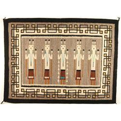 Five Figure Yei Rug