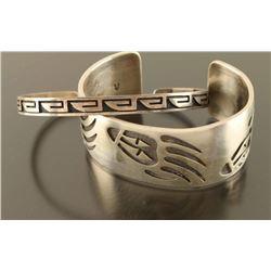 Lot of 2 Hopi Bracelets