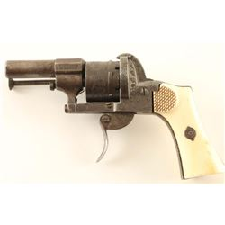 E. LeFaucheux Brevette Pinfire Revolver