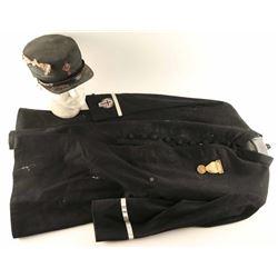 Masonic Coat and Cap