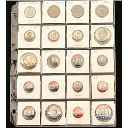 Lot of Political Tokens and Pins