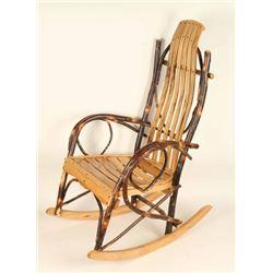 Handmade Wooden Rocking Chair
